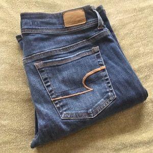 New American Eagle kick boot cut jeans